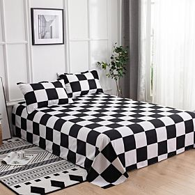 Deals For Less Bedding Set of 3 Pieces, Checkered Design