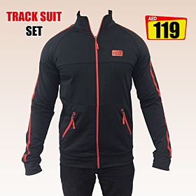 Fashion Men's Full Zip Casual Tracksuit Set | Made in Turkey