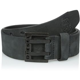 Diesel Men's Bit Belt, Black,-85