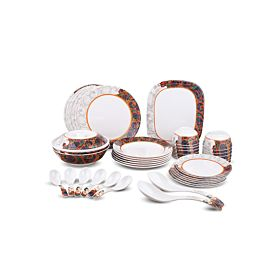 Dinewell  Dinner Set 42-Piece Multi Color