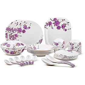 Dinewell Melamine Dinnerware Sets - 42 Pieces DW8905