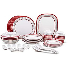 Dinewell Melamine Dinnerware Sets - 42 Pieces DW8906