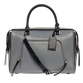 DKNY R361021004 086  Bag For Women - Leather, Charcoal Grey