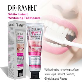 DR.RASHEL 120g Coffee Tea Tobacco Stains Removing Whitening Toothpaste