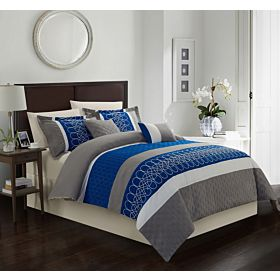 Carolin home linen 8 pcs comforter sets | Model: Legend-03