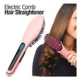 Thermal Hair Brush By Fast Hair Straightener HQT-906