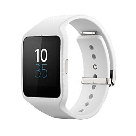 SWR50 Smartwatch 3 420 mAh White Case With White Band