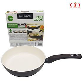 Eco Cook Non Stick Swiss Technology Ceramic Fry Pan| Energy Saving System