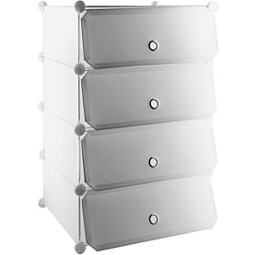 Plastic Storage,shoe Racks White