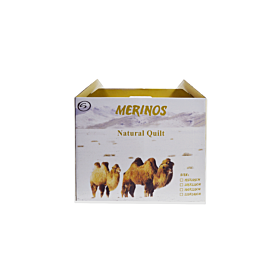 Merinos Natural Quilt (camel wool) single-160x220