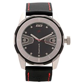 Fastrack Men's Analog & Digital Black  38008PP01