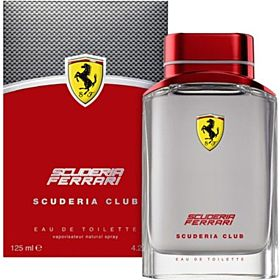 Ferrari Scuderia Club Men - Eau de Toilette, 125ml