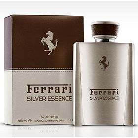 Ferrari Silver Essence for Men - Eau de Parfum, 100ml