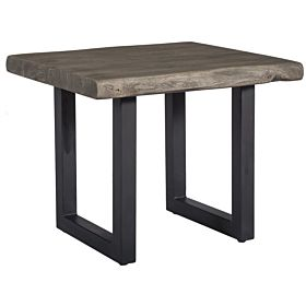 treasure Trove 17380 End Table, Grey
