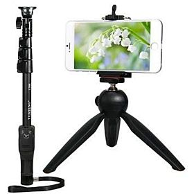 Yunteng Selfie Stick holder black
