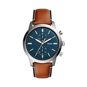 Fossil Men's Water Resistant Chronograph Watch FS4873