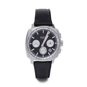 Fossil Men's Leather Analog Watch ME1122