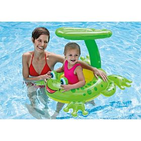 Froggy Friend Shaded Baby Float-56584