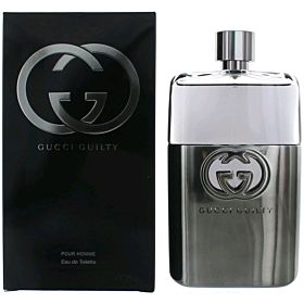 Gucci guilty pourhomme  Eau de toilette for men 90 ml