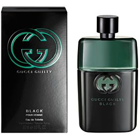 Gucci Guilty Black Pour Homme  for Men - Eau de Toilette, 90ml