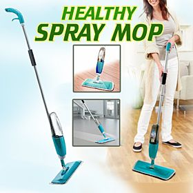 Healthy Spray Mop and Easy Clean Mop Pad