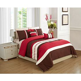 carolin home linen 8pcs comforter sets-model:02