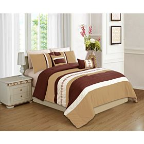 carolin home linen 8pcs comforter sets-model:hosta-03
