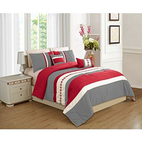 carolin home linen 8pcs comforter sets-model:05