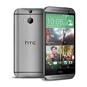 HTC One M8 - 32GB, HTC UltraPixel camera, 4G LTE, Gunmetal Gray