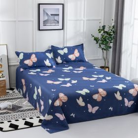 DEALS FOR LESS - Bedsheet set of 3 pieces,  Butterfly  Design.
