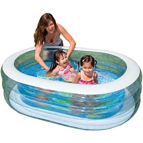 Intex 57482 Oval Whale Fun Pool