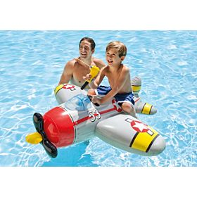 Intex 57537 Water Gun Plane Ride-on 52inch X 51inch