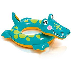 Intex 58221 Big Animal Swim Ring, Alligator