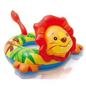 Intex 58221 Big Animal Swim Ring, Lion