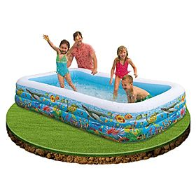 Intex 58485 Swim Center Family Water Pool