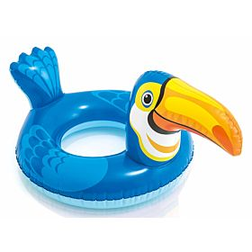 Intex Big Animal Swim Ring, Blue [58221]
