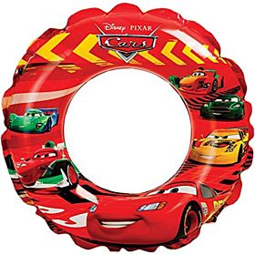 Intex Cars Inflatable Rubber Swim Ring