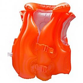 Intex Deluxe Inflatable Swim Vest Red 58671NP(46)