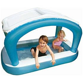 Intex Sunshade Rectangular Baby Pool- 57423