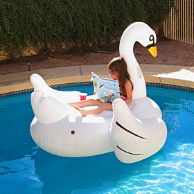 Intex Swan Ride On Pool Float - 57557