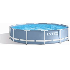 "Intex Prism Frame Pool 12' X 30"""" (3.66m X76cm) With Filter Pump - 28712"