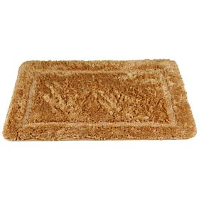 Cannon Acrylic Floor Bath Mat Plain Size 60x90 cm, Gold