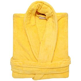 Karar Cotton Bathrobe, Yellow