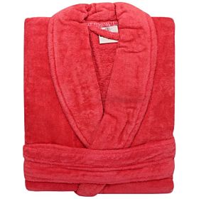 Karar Cotton Bathrobe, Wind Red