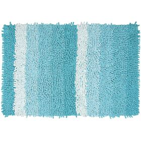 Homewell Ombre Bath Mat 70 X 50 Cm - Blue