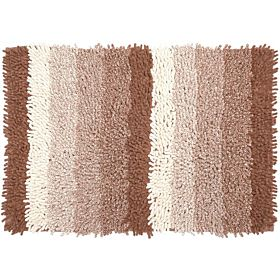 Homewell Ombre Bath Mat 70 X 50 Cm - Brown