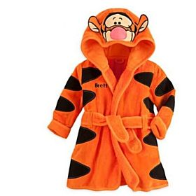 Orange Character Bathrobe - 130cm