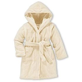 Kid's Bathrobe Unisex Cream