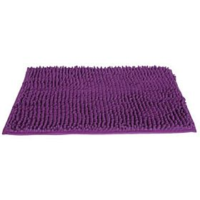 Rectangular Bath Mat - 40 x 60 cm, Dark Purple