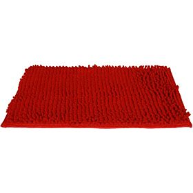 Rectangular Bath Mat - 40 x 60 cm, Maroon